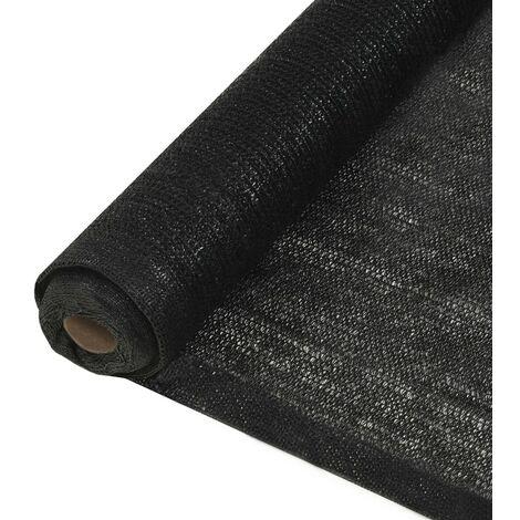 Privacy Net HDPE 1.5x25 m Black