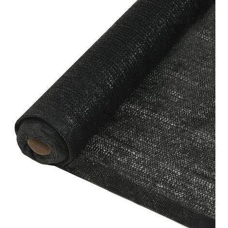 Privacy Net HDPE 1x25 m Black