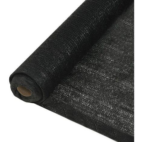 Privacy Net HDPE 1x50 m Black