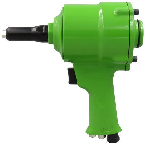 Pro Aire remachadora neumatica Pistola Tipo Pop Rivet aire de la pistola remachadora de accionamiento mecanico, verde