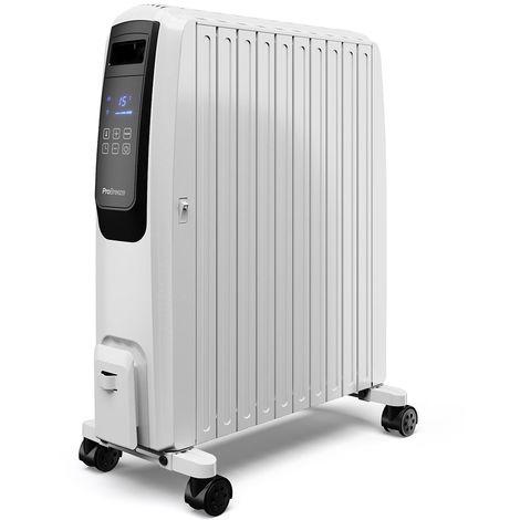 Pro Breeze 2500W Ölradiator mit digitalem Display | 12 Rippen