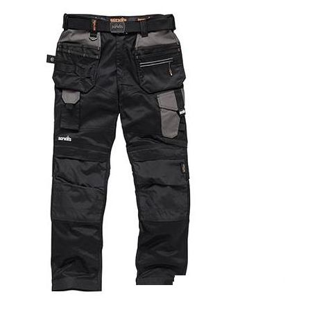 Pro Flex Holster Trousers Black - 38S