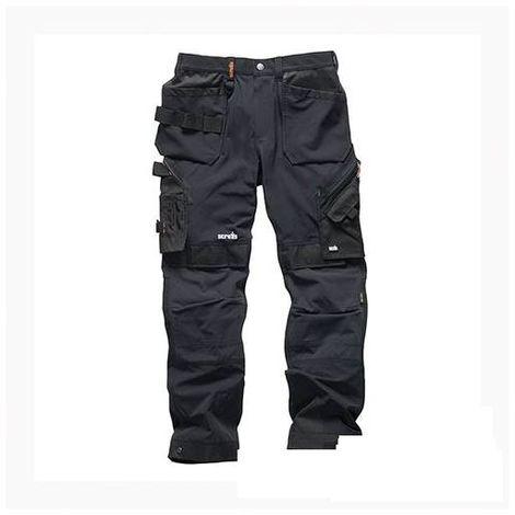 Pro Flex Plus Holster Trousers Black - 36R