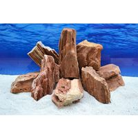 Pro Kiste Aquarium Deko Versteinertes Holz Natursteine 2-3 Kg Felsen Nr.52