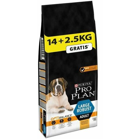 PRO PLAN Robust Optibalance - Croquettes au poulet - Pour chien adulte de grande taille - 14 + 2,5 kg