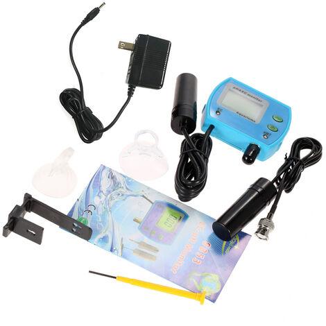 Probador de calidad del agua 2 en 1, monitor de calidad del agua, medidor de pH / CE