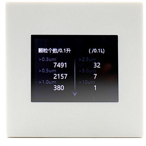 Probador de la humedad de Calidad del Aire del hogar del detector multifuncional C02 PM 2.5 Temperatura