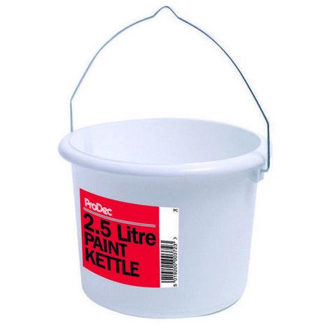 ProDec 7PC Plastic Paint Kettle 2.5 Litre