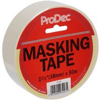 ProDec Masking Tape 38mm 1.5in x 50m