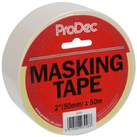 ProDec Masking Tape 50mm 2in x 50m