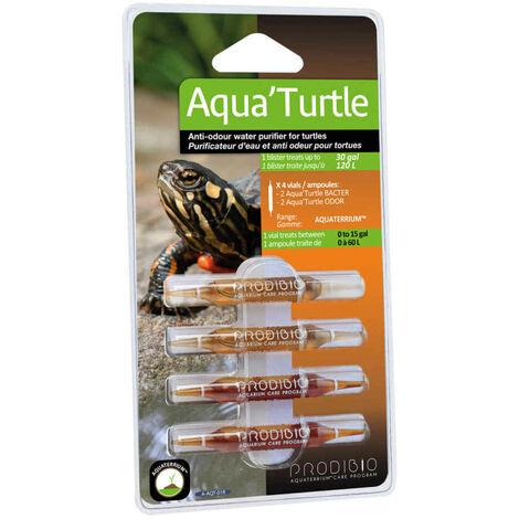 Prodibio - Purificateur Eau Aqua'Turtle pour Tortues - x4