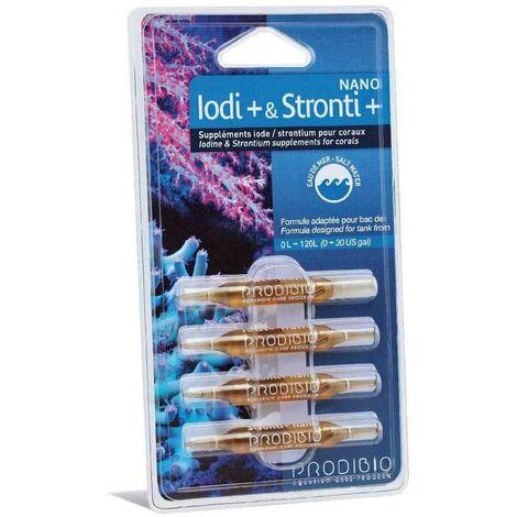 Prodibio - Supplément Iodi+ & Stronti+ Nano pour Coraux - x4