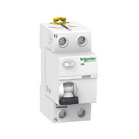 ProDis iID K interrupteur différentiel PdC 4,5kA 2P 40A type AC 300mA - A9R56240