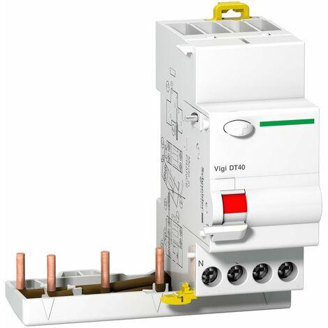 ProDis Vigi DT40 si - bloc différentiel 3P+N 25A 30mA instantané type A 230-415V - A9N21474