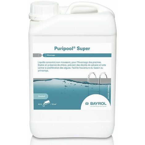 Produit d'hivernage Bayrol Puripool Super 1L