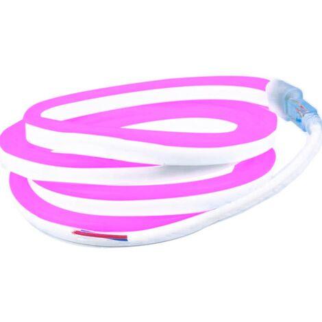 Profesional 12V EPISTAR 2835 120 LED/m 5 metros Cinta LED flexible de neón Profesional 12V EPISTAR 2835 120 LED/m 5 metros Rosa