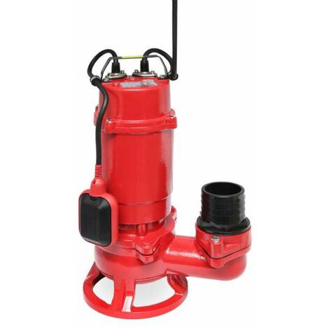 PROFESIONELLE IBO TAUCHPUMPE Schmutzwasserpumpe WQ 1500 PRO 1500 Watt 230V bis 42m³/h