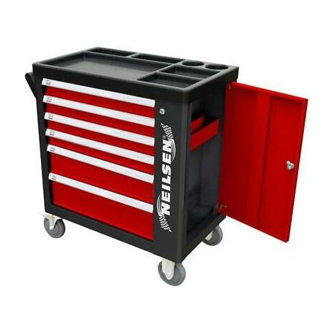 Professional 6 Drawer Tool Chest plus 155 Tools