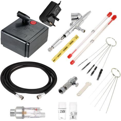 "main image of ""Professional artist spraying airbrush air pump set, 220V"""