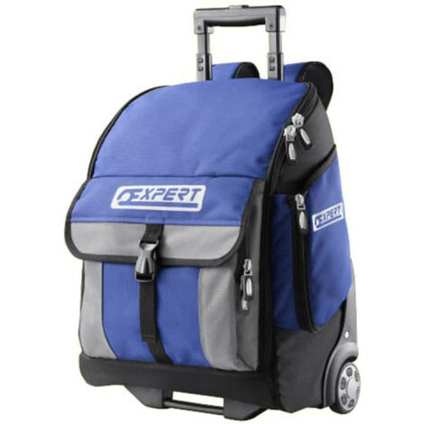 Professional Backpack EXPERT - Textile - On wheels - 470x338x218mm - E010602
