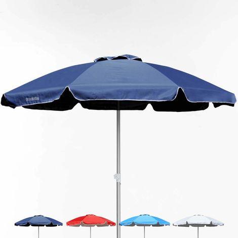 Professional Beach Umbrella Aluminium Windproof Adjustable Height Anti UV BAGNINO