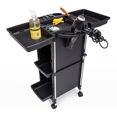 Professional drawer set trolley with wheels for hairdressers and beauticians BANGS