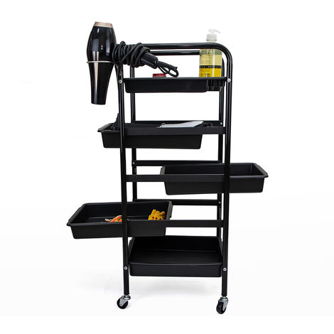 Professional drawer set trolley with wheels for hairdressers and beauticians PIXIE