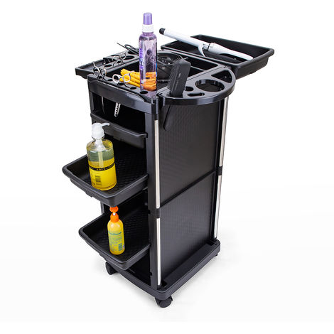 Professional drawer set trolley with wheels for hairdressers and beauticians TWISTS