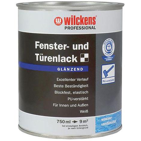 Professional Fenster- und Türenlack, weiß, 750 ml