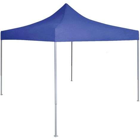 Professional Folding Party Tent 2x2 m Steel Blue