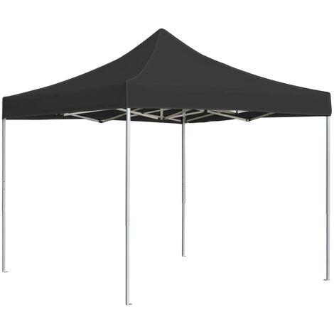 Professional Folding Party Tent Aluminium 2x2 m Anthracite