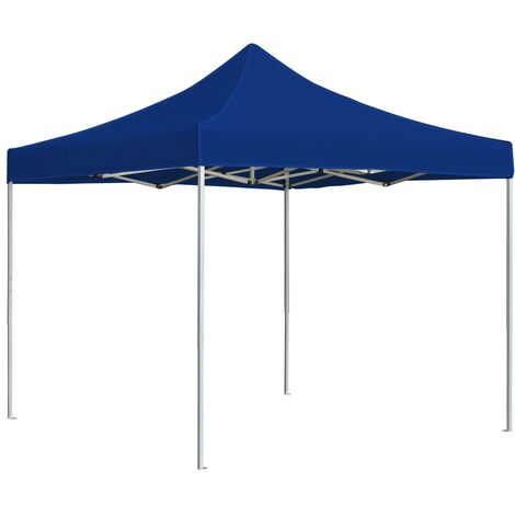Professional Folding Party Tent Aluminium 2x2 m Blue