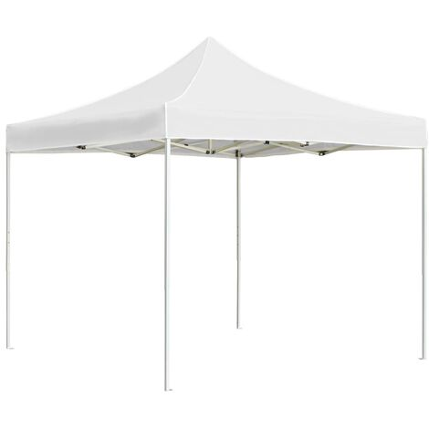 Professional Folding Party Tent Aluminium 2x2 m White