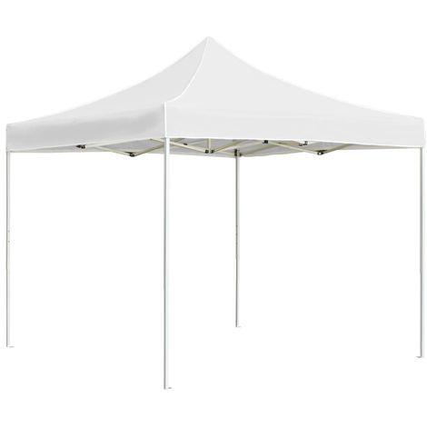 Professional Folding Party Tent Aluminium 2x2 m White