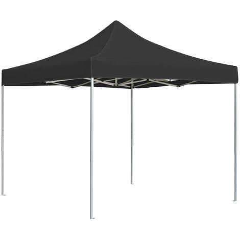 Professional Folding Party Tent Aluminium 3x3 m Anthracite