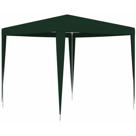 Professional Party Tent 2,5x2,5 m Green 90 g/m - Green