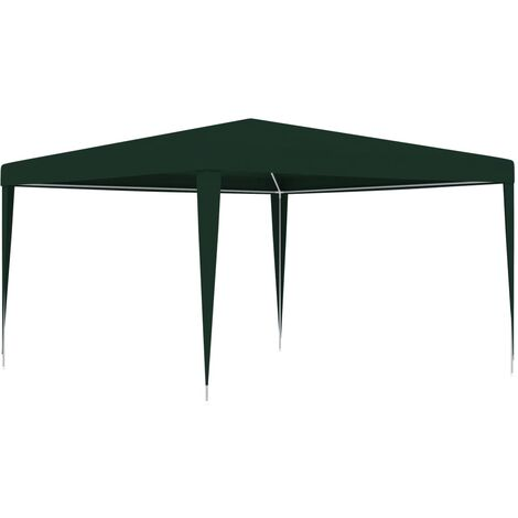 Professional Party Tent 4x4 m Green 90 g/m - Green