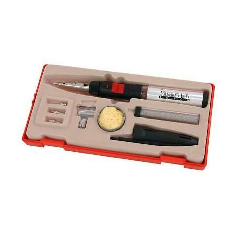 Professional Soldering Set: Iron & Hot Air Torch
