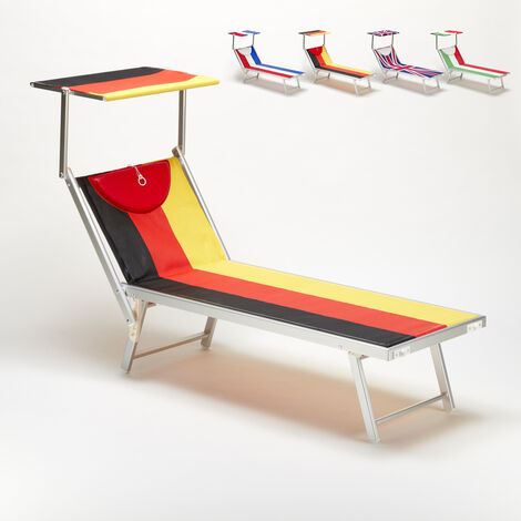 Professional Sun Loungers in Alluminium Garden Beach SANTORINI EUROPE EDITION | Germany