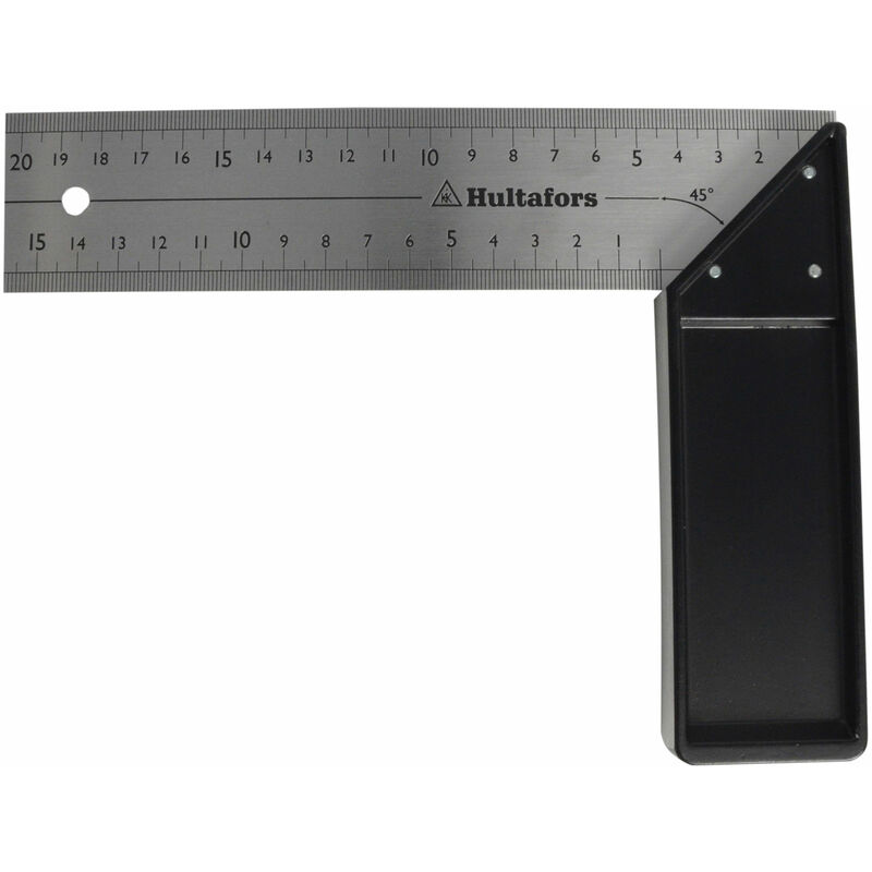 Image of 260003 Professional Try Square 200mm (8in) - Hultafors