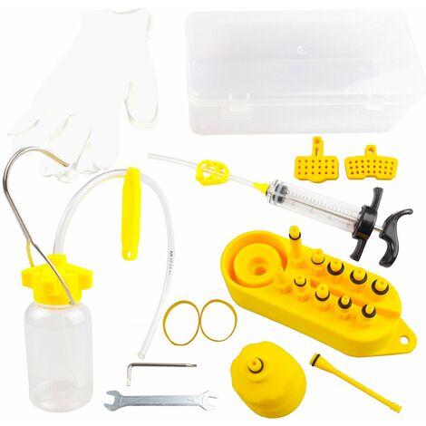 Professionnel Frein A Disque Hydraulique Kit De Purge A Disque Hydraulique Mineral Frein De Purge Kit D'Outils Pour Tous Les Freins Dot