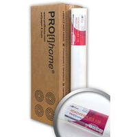 Profhome wall liner 130 g non-woven lining paper smooth paintable wallpaper white | 4 rolls 807 sq ft (75 sqm)