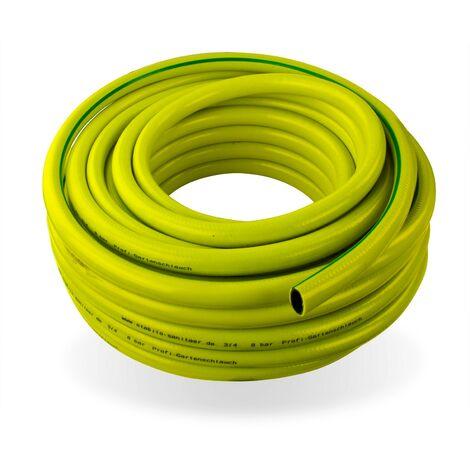 """Wasserschlauch 3//4/"""" 25m Luftschlauch Gartenschlauch PVC Schlauch gelb"""