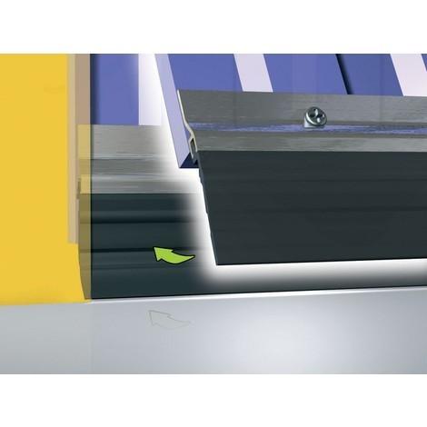Profil ADS-GL PVC avec bavette FR CALFEUTRAGE 2.5 m - 0301003D