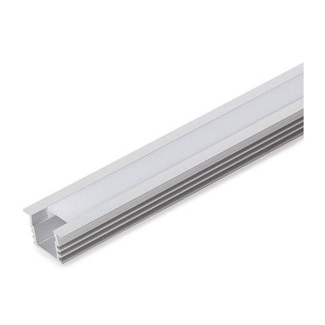 Profil Aluminium Pour Bande Led DiffuseurLaiteux WR-2212 x 1M (WR-2212)
