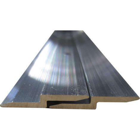 Profil d'accrochage pour panneaux - Epaisseur : 2 mm - Hauteur : 28 mm - Longueur : 1100 mm - Matériau : Aluminium - BOHNACKER - Matériau : Aluminium