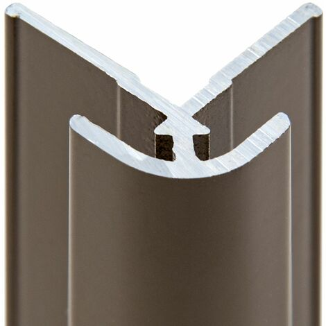 Profil� d'angle ext�rieur pour panneau mural de douche, 210 cm, D�coDesign, Schulte, diff�rents d�cors au choix