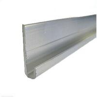 Profil de départ alu pour bardage - Coloris - Aluminium brut, Epaisseur - 8 mm, Largeur - 3 cm, Longueur - 270 cm