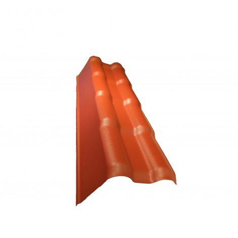 Profil de rive gauche pour toiture PVC mini 94 x 66 cm