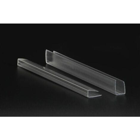 Profil en U, pour polycarbonate - longueur profil (cm) 210 - pour plaque épaisseur (mm) 10
